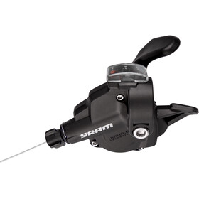 SRAM X4 Trigger Gear Lever front, 3-fold black